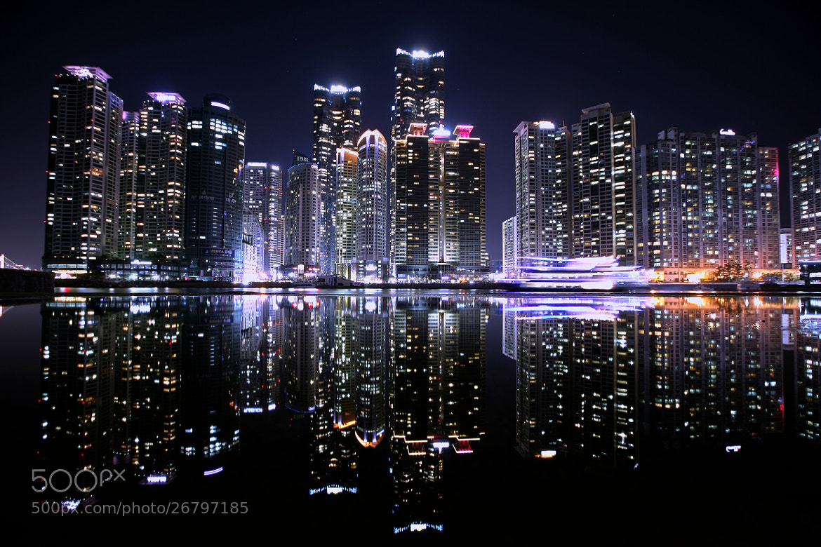 Photograph Reflection Of Marine City by RYNTEN  on 500px