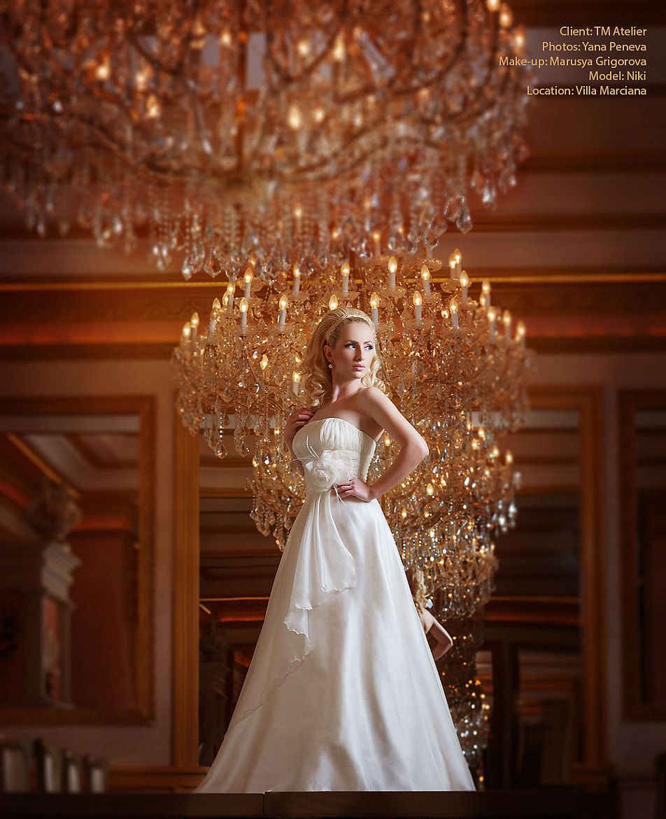 Photograph Wedding Dress by Yana Peneva on 500px