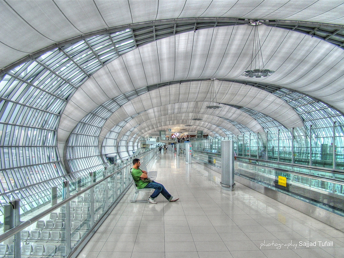 Photograph Suvarnabhumi International Airport Bangkok. Thailand by Sajjad Tufail on 500px