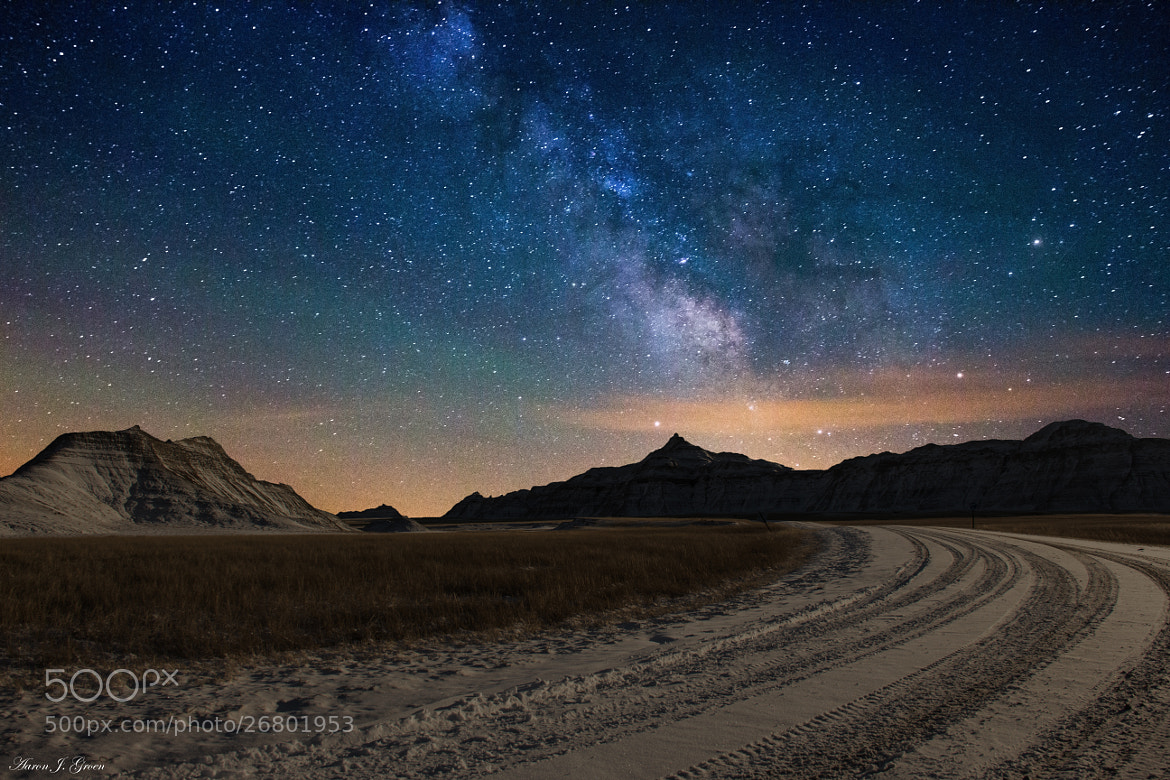 Photograph Take a left at the Milky Way by Aaron J. Groen on 500px