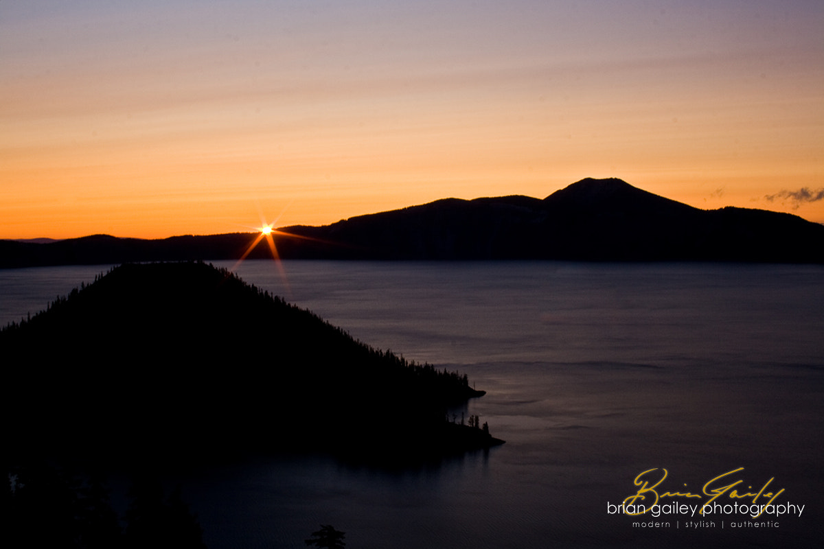 Photograph Crater Lake Sunrise by Brian Gailey on 500px