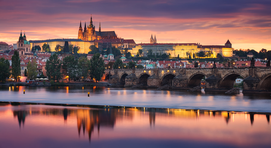 Photograph Prague Vista by Michael  Breitung on 500px