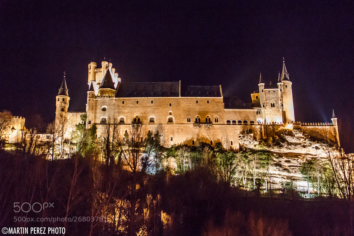 Photograph Alcazar of Segovia by Martín Pérez on 500px