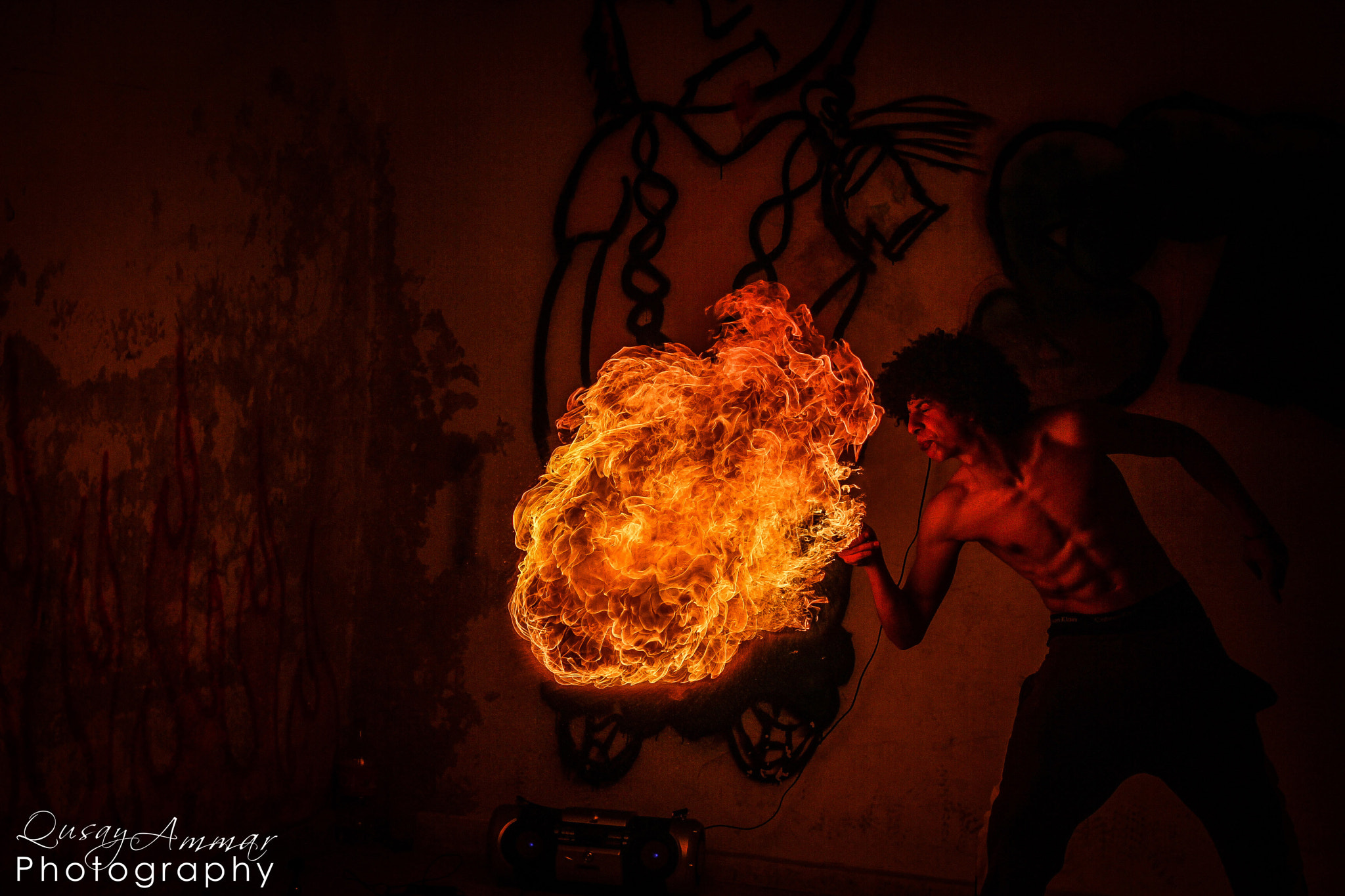 Photograph Fire Master ! 2  by Qusay Abo Baker on 500px