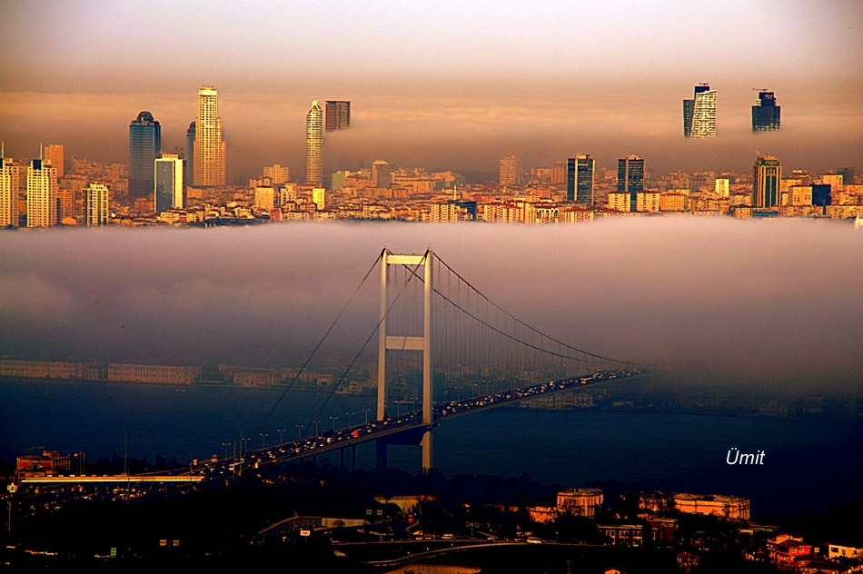 Photograph A foggy day in Istanbul... by emekli on 500px