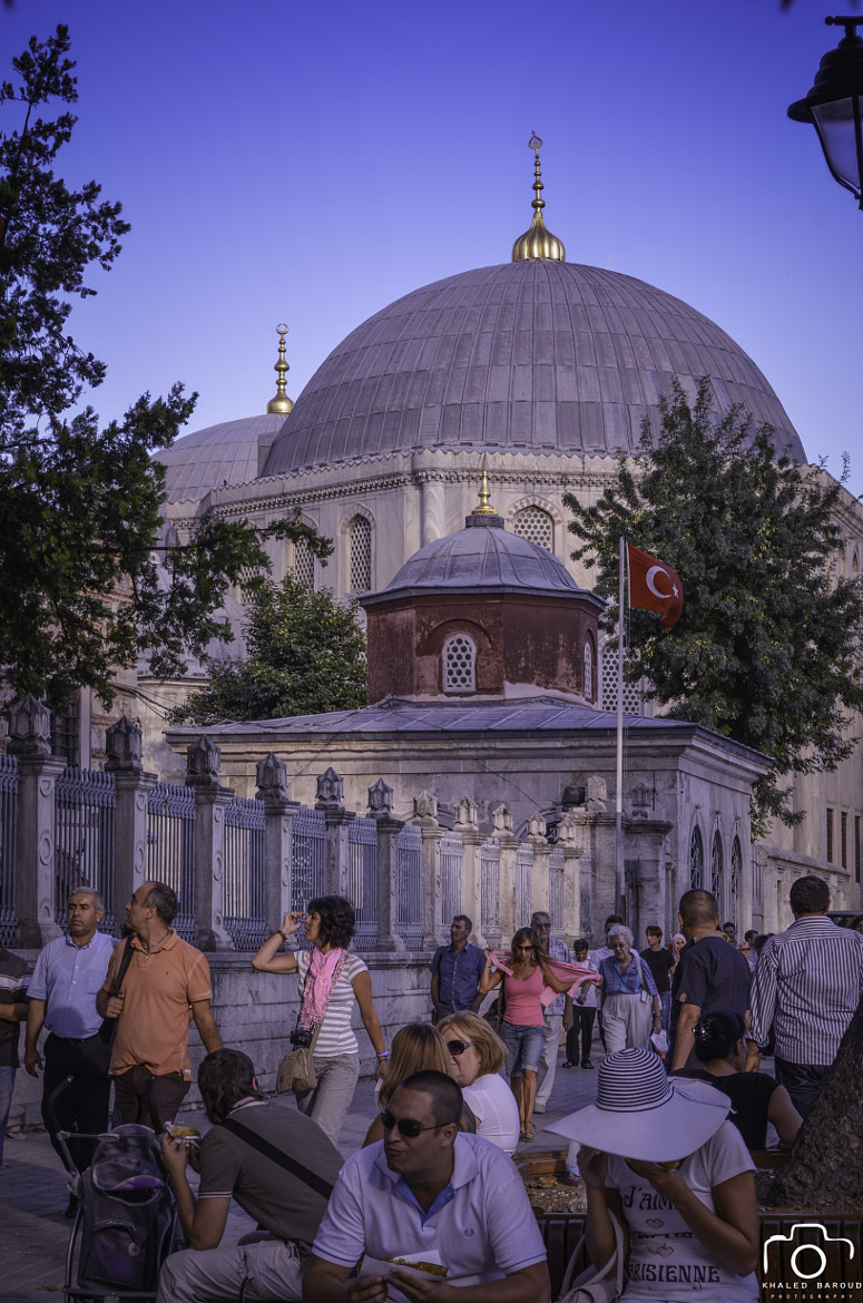 Photograph Istanbul , Ayah Sofia mosque  by Khaled Baroud on 500px