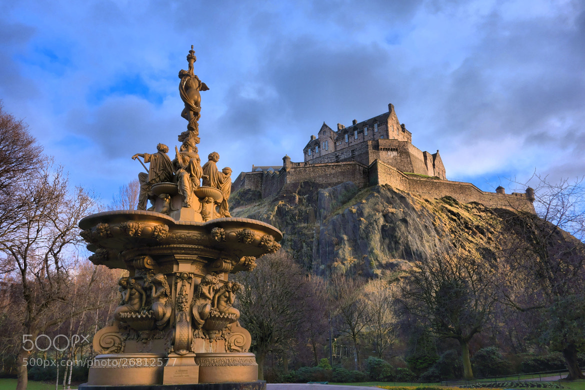 Photograph Edinburgh Castle by Morten Hansen on 500px