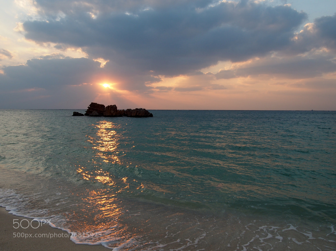 Photograph Sunset beach by THE TOKYO FOREST on 500px