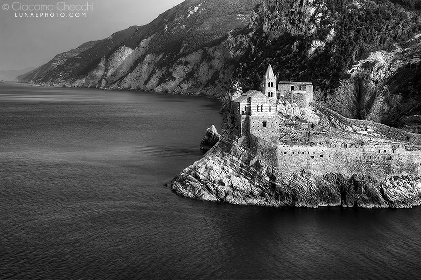 Photograph Portovenere - old postcard by Giacomo Checchi on 500px