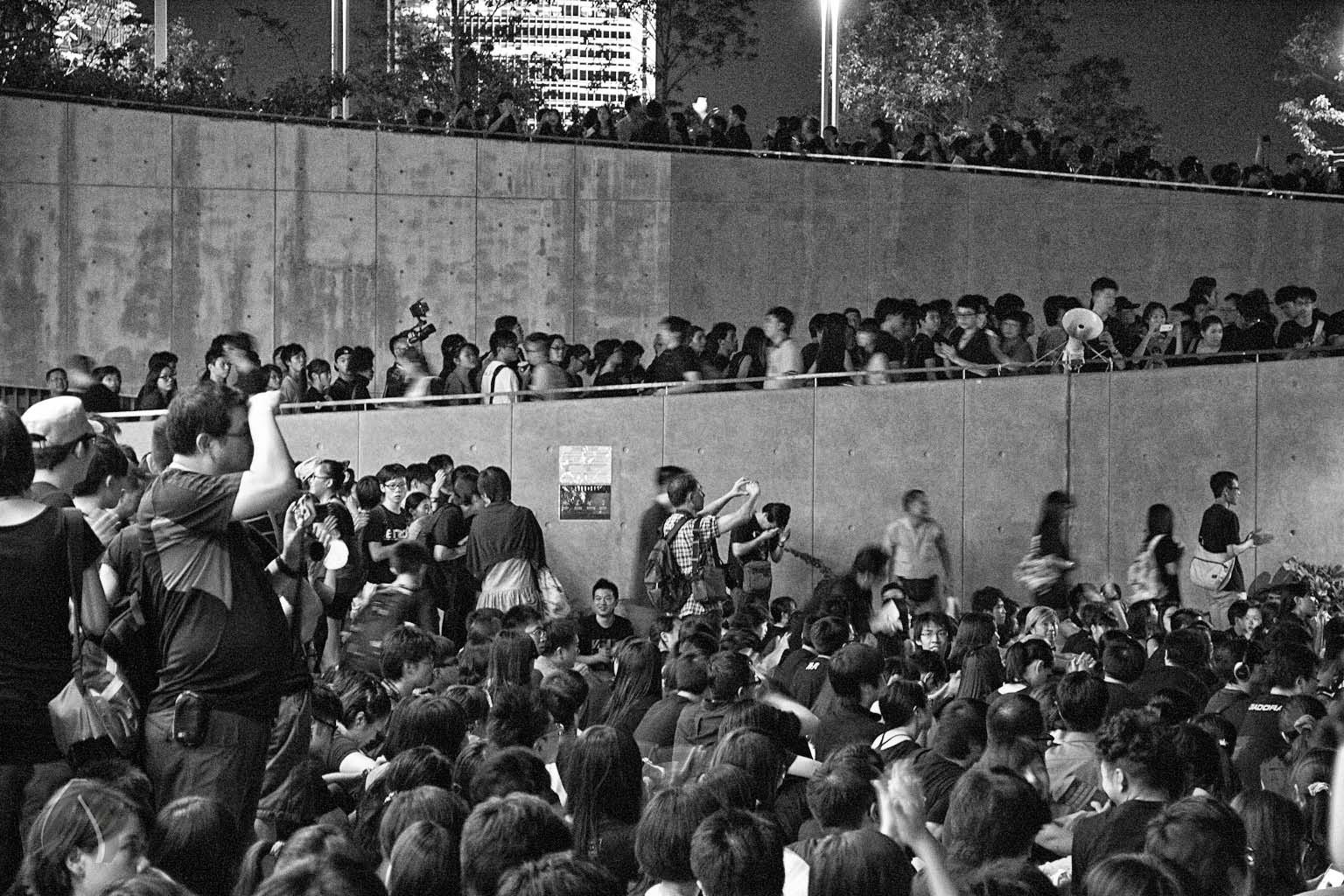 Photograph Protest agaist Patriotic Education in Hong Kong by Accent Photographment on 500px