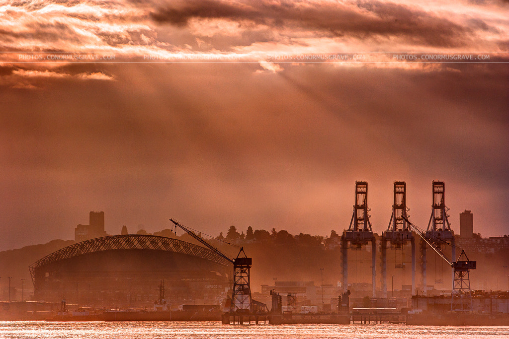 Photograph Seattle Port  by Conor Musgrave on 500px
