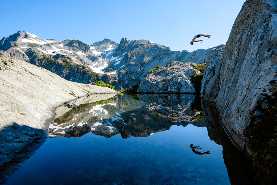 Alpine Backflip by Jason  Hummel on 500px.com