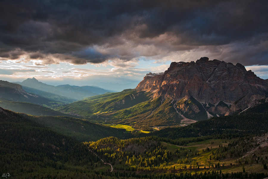 Photograph Sunset on Alta Badia, Dolomites by Marco Dian on 500px