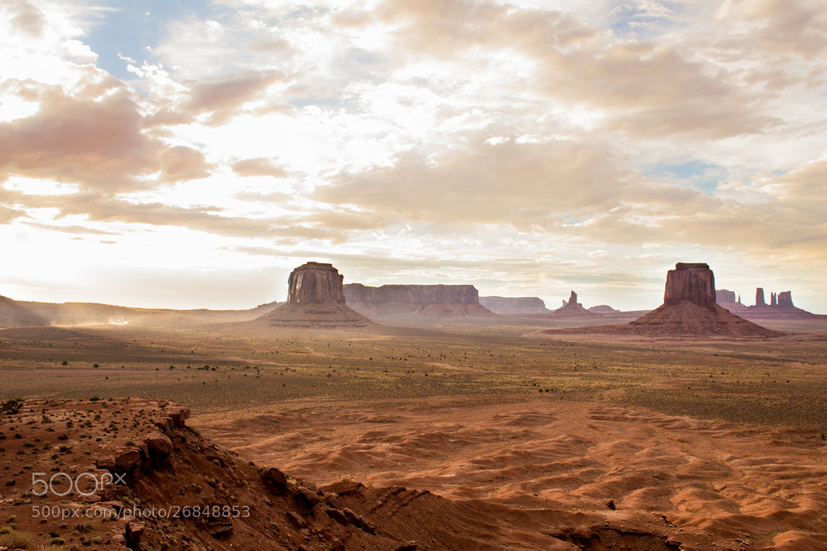Photograph Monument Valley by Iskiam Jara on 500px