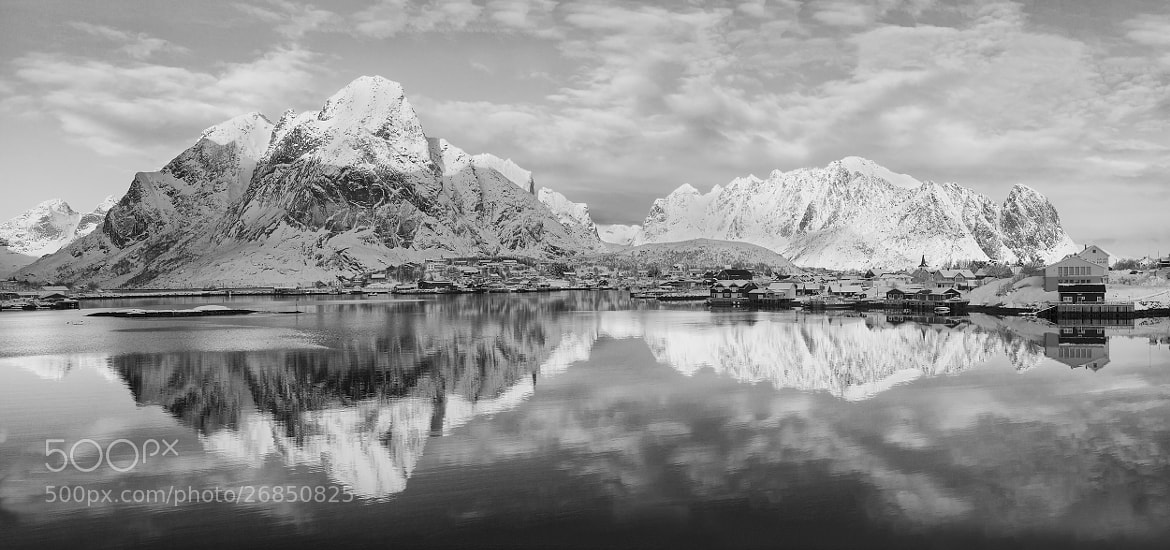 Photograph Reine in Mono II by Daniel Hannabuss on 500px