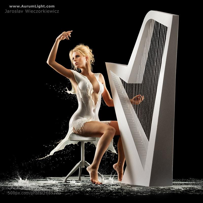 Photograph The Milky Harpist by Jaroslav Wieczorkiewicz on 500px