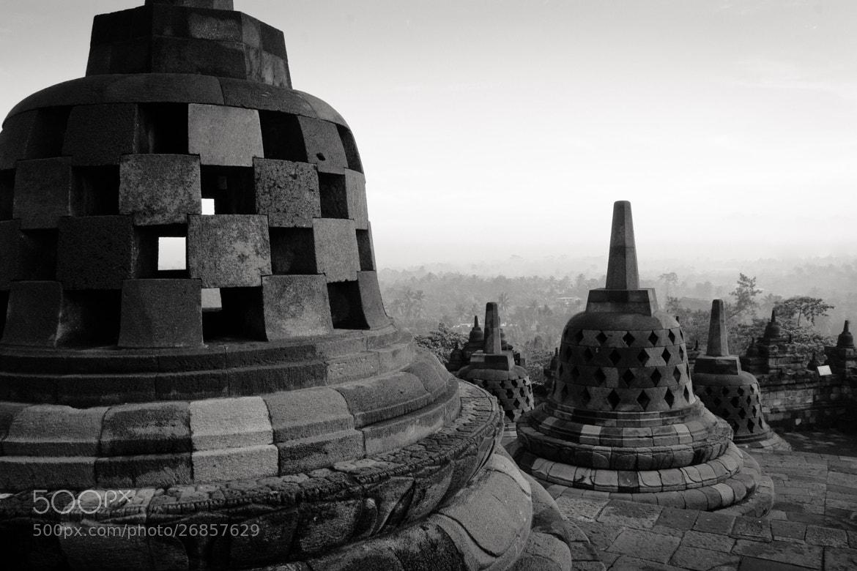Photograph Stupa - Borobodur - java - study II by Olivier Bergeron on 500px