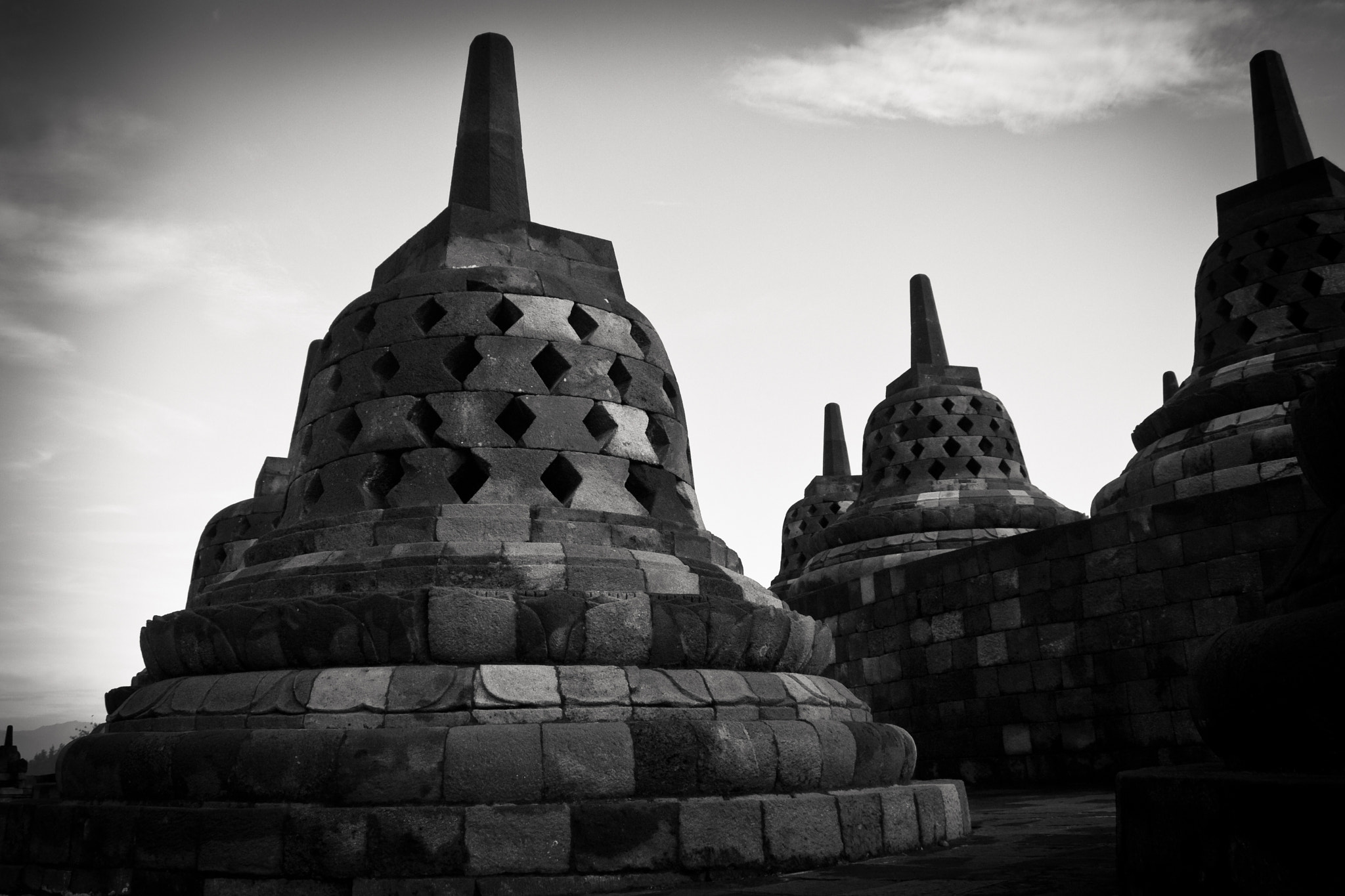 Photograph stupa - Borobodur - Java  by Olivier Bergeron on 500px