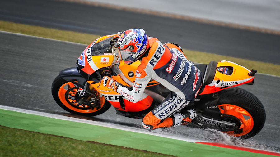 Photograph Moto GP - Casey Stoner by Jason Swales on 500px