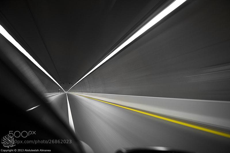 Photograph  Long tunnel by Abduleelah Al-manea on 500px