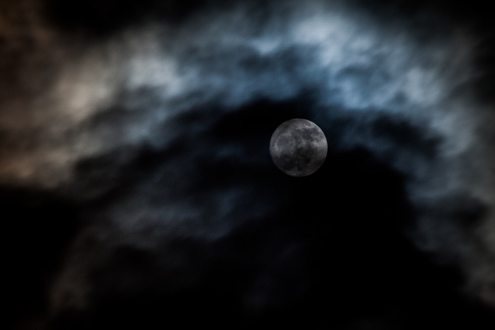 Photograph Moon by Stuart Comerford on 500px