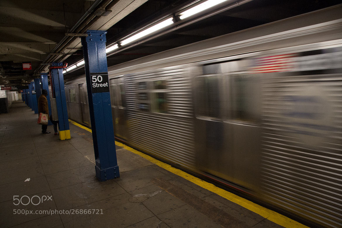 Photograph Subway at 50th Street by Scott Nelson on 500px