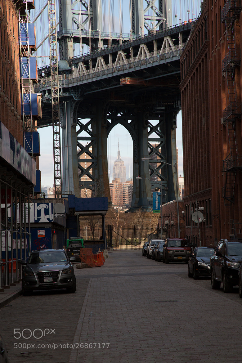Photograph Empire State Building and Manhattan Bridge by Scott Nelson on 500px