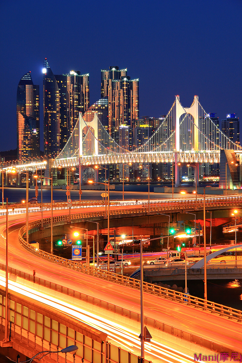 Photograph The City Line of THE GWAN AN DAE Bridge... by Jiman JUNG on 500px