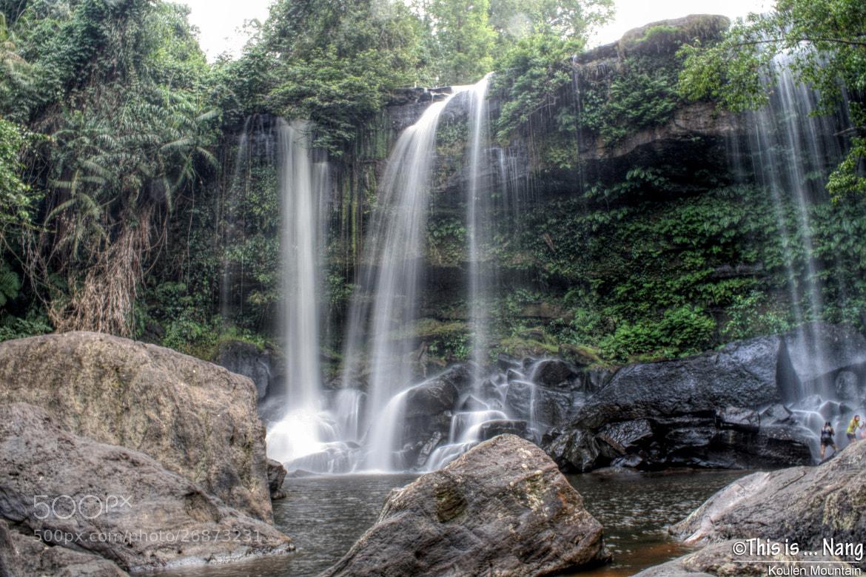 Photograph Phnom Kulen Waterfall by Nang Ray on 500px