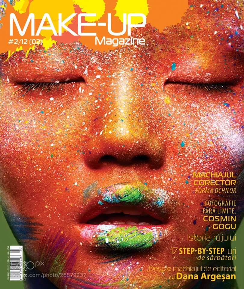 Photograph Make Up magazine cover by bestportfolio on 500px