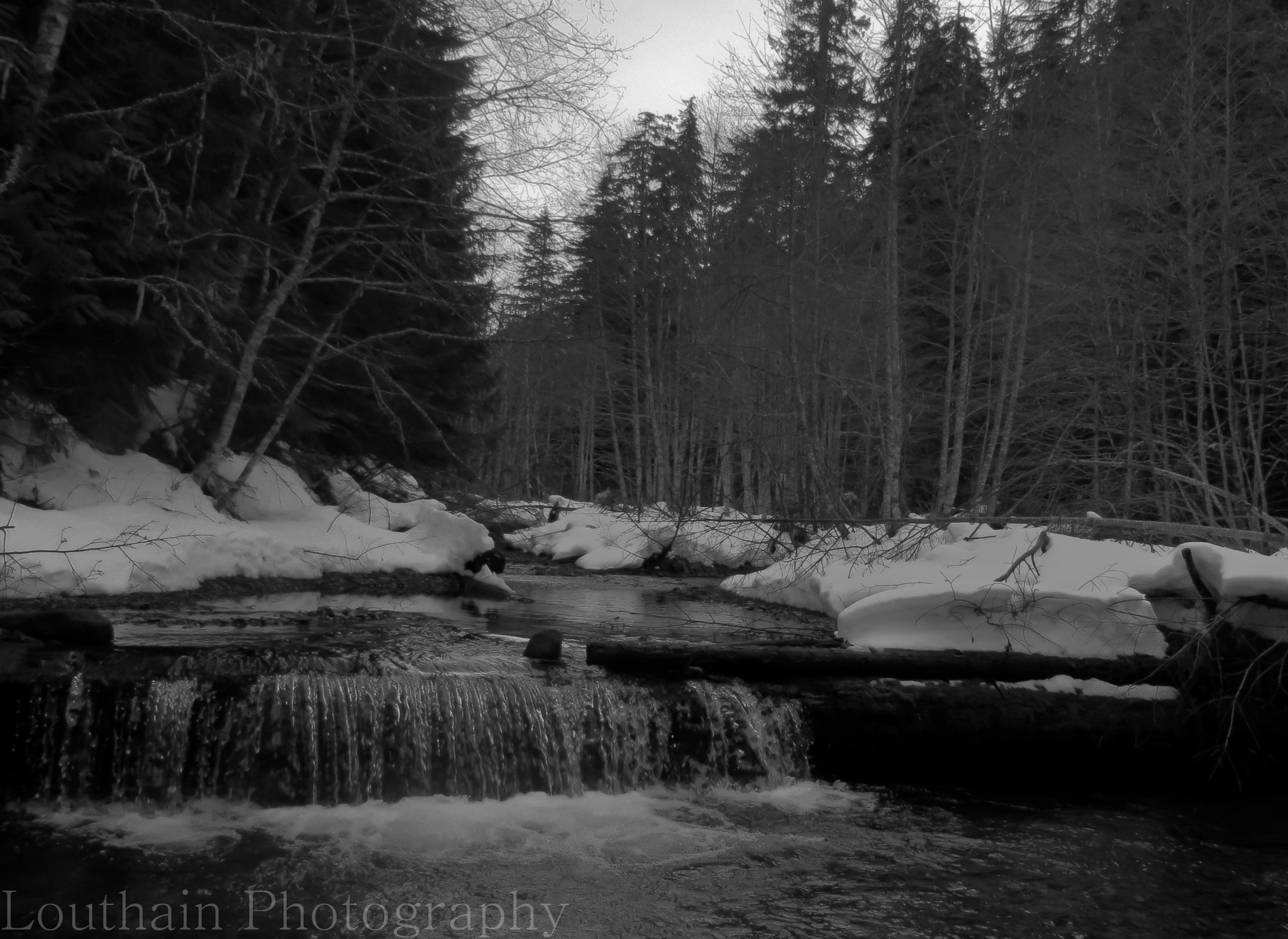 Photograph Winter's Icy Creek by Eric Louthain on 500px
