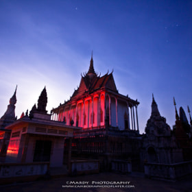 The Red Pagoda in the Night! by Mardy Photography (Mardy)) on 500px.com