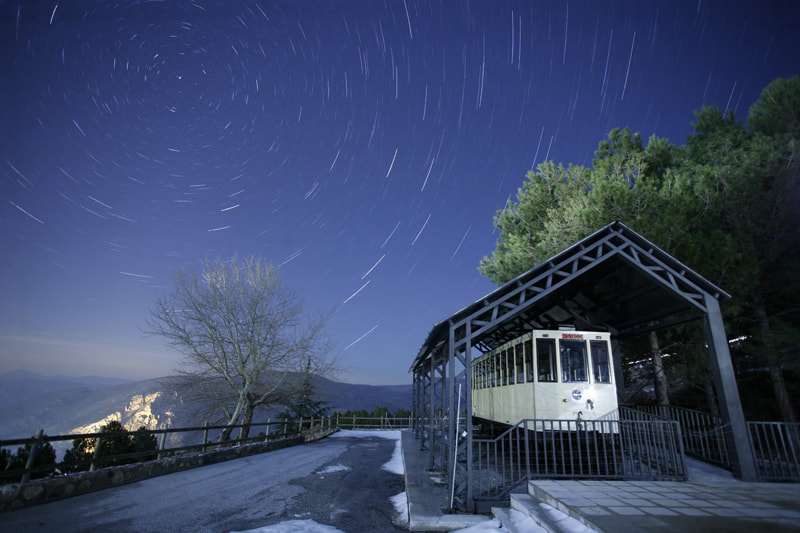 Photograph Star trail en el Dornajo by Rafa García on 500px