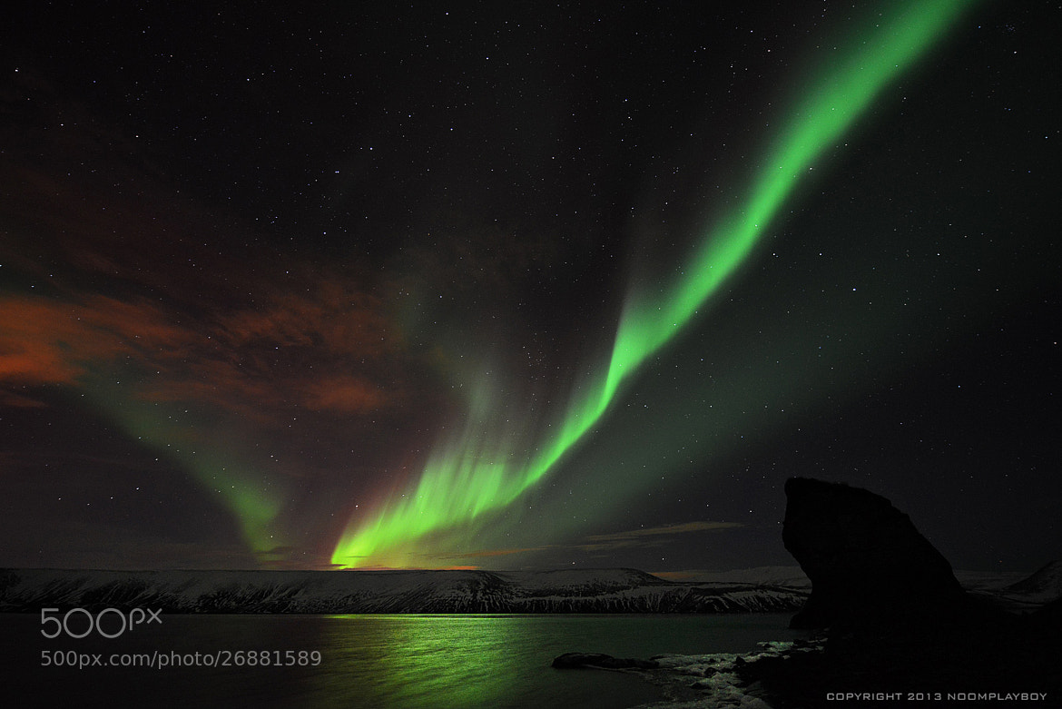 Photograph Aurora Twist at Iceland by noomplayboy  on 500px