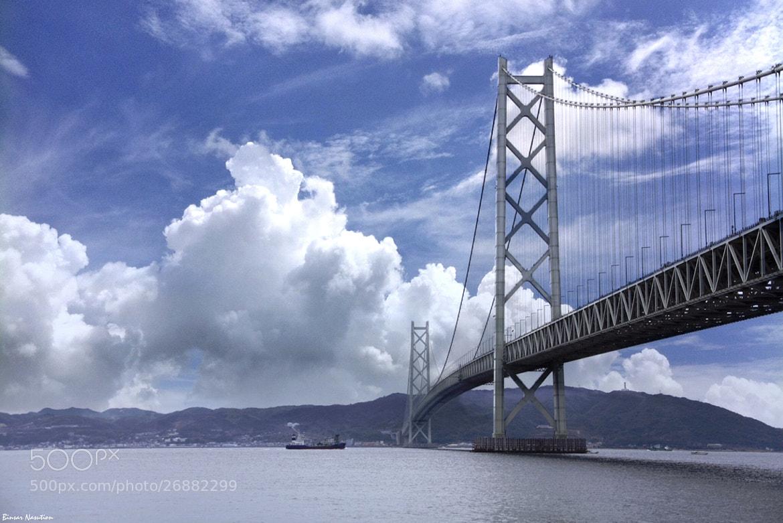 Photograph Akashi Kaikyo Bridge by Binsar Nasution on 500px