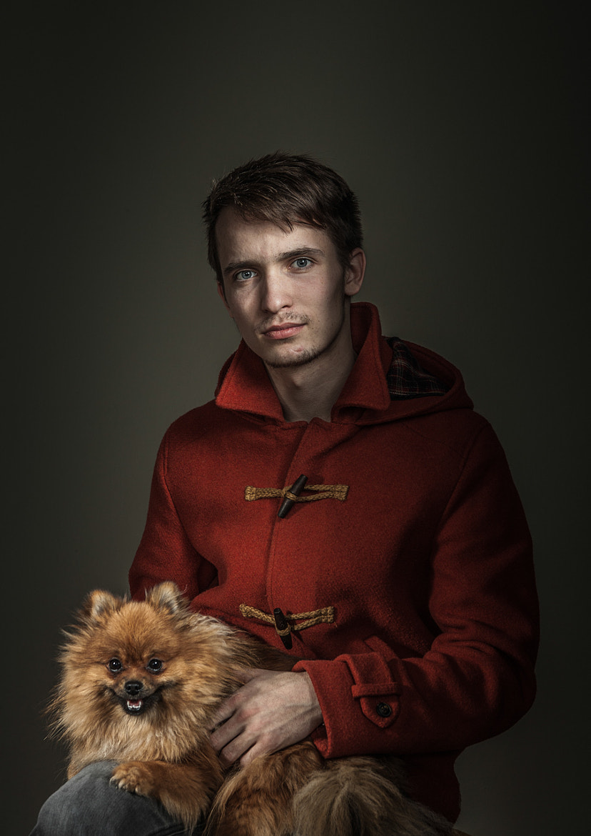Photograph Gentleman with an pomeranian by Paul Schlemmer on 500px