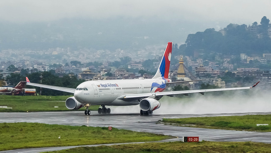 Nepal Airlines A330 by ShresthaShrawan on 500px.com