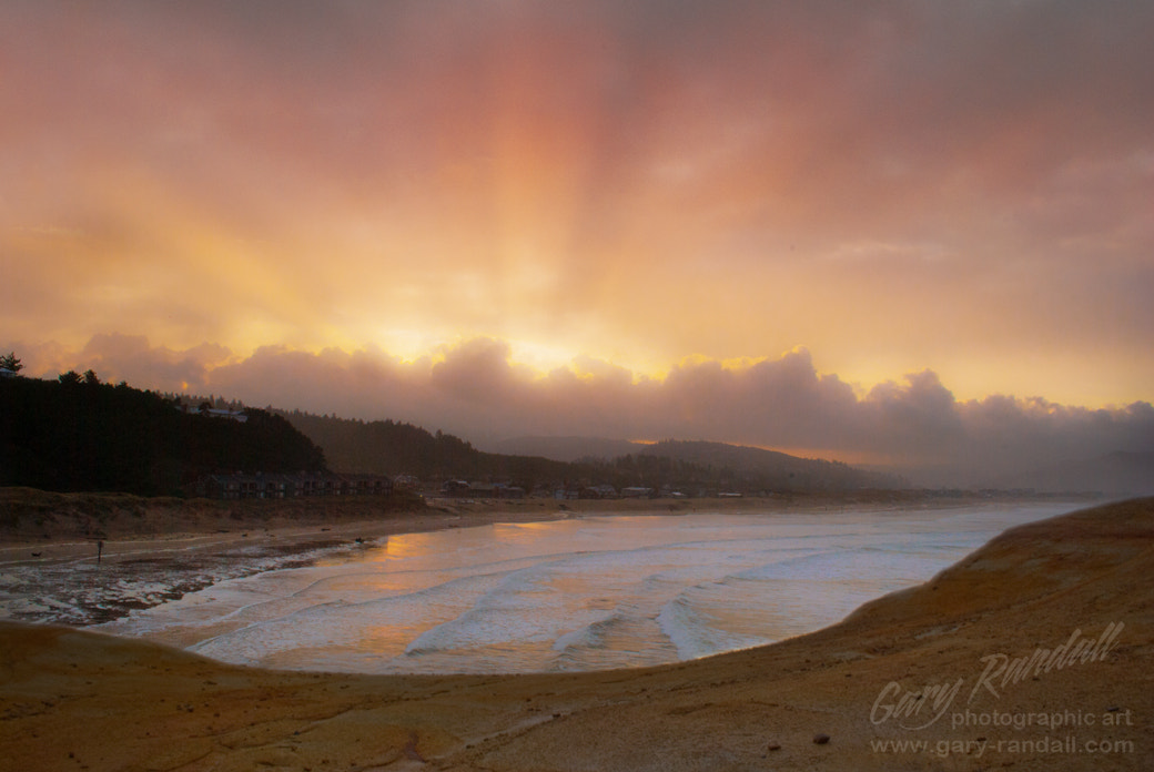 Photograph Pacific City Sunrise by Gary Randall on 500px