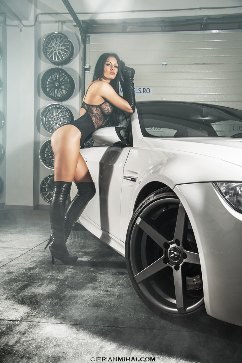 Photograph BMW M3 E92 and Girl  by Ciprian Mihai on 500px