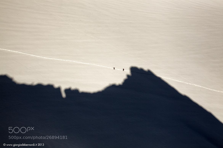 Photograph Entreves (Aiguille d') Cresta Sud Ovest Mont Blanc by giorgio debernardi on 500px