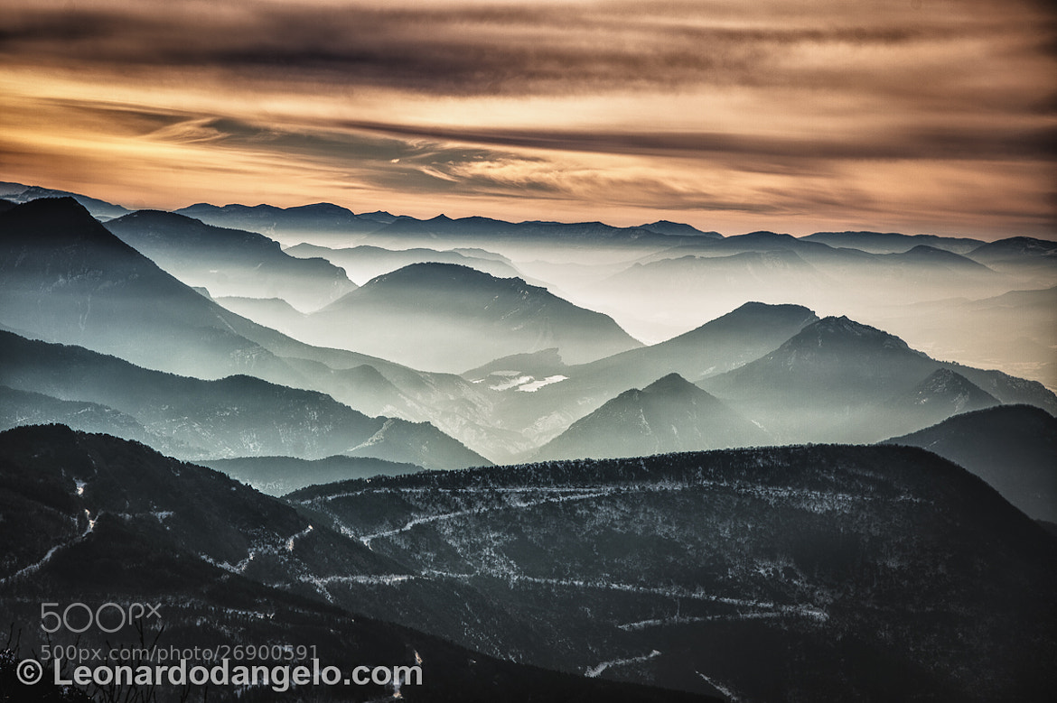 Photograph Mist in the French Alps by Leonardo D'Angelo on 500px