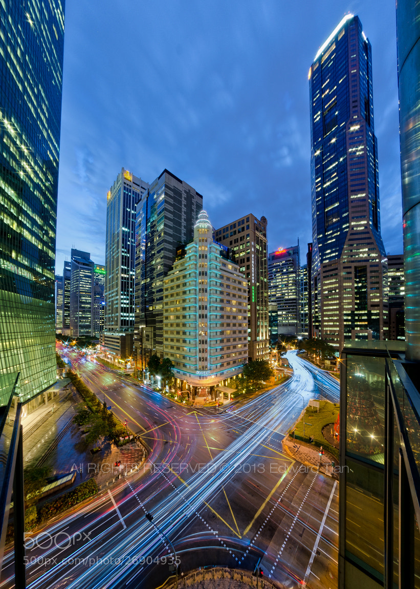 Photograph Ascott Raffles by Edward Tian on 500px