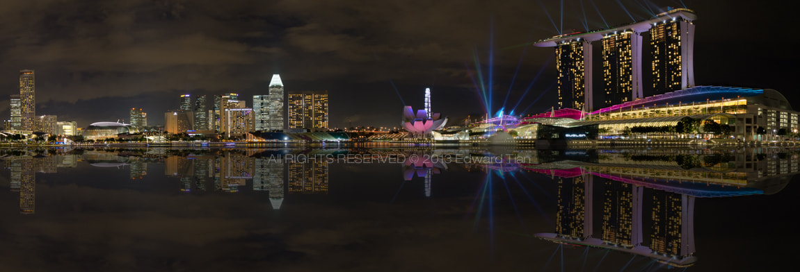 Photograph Marina Bay View by Edward Tian on 500px