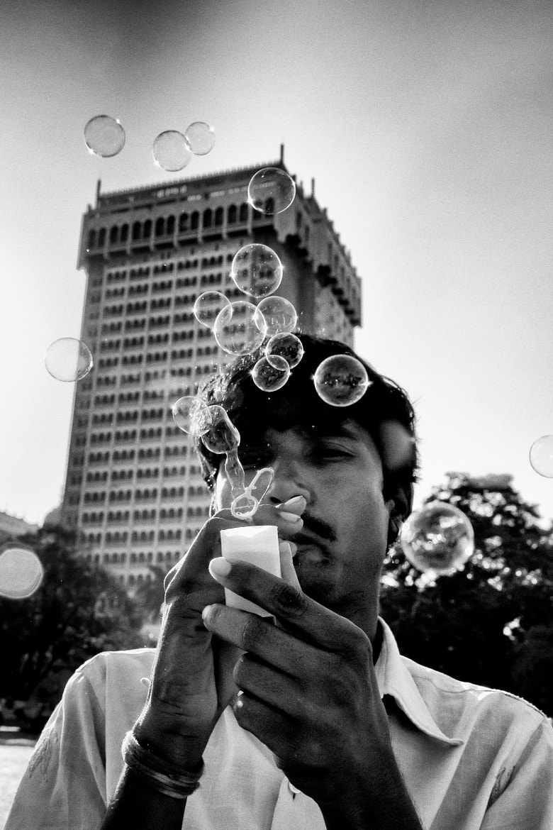 Photograph The Bubble Maker by Jinesh Udani on 500px