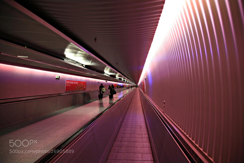 Photograph Frankfurt airport by Damianos Kounenis on 500px