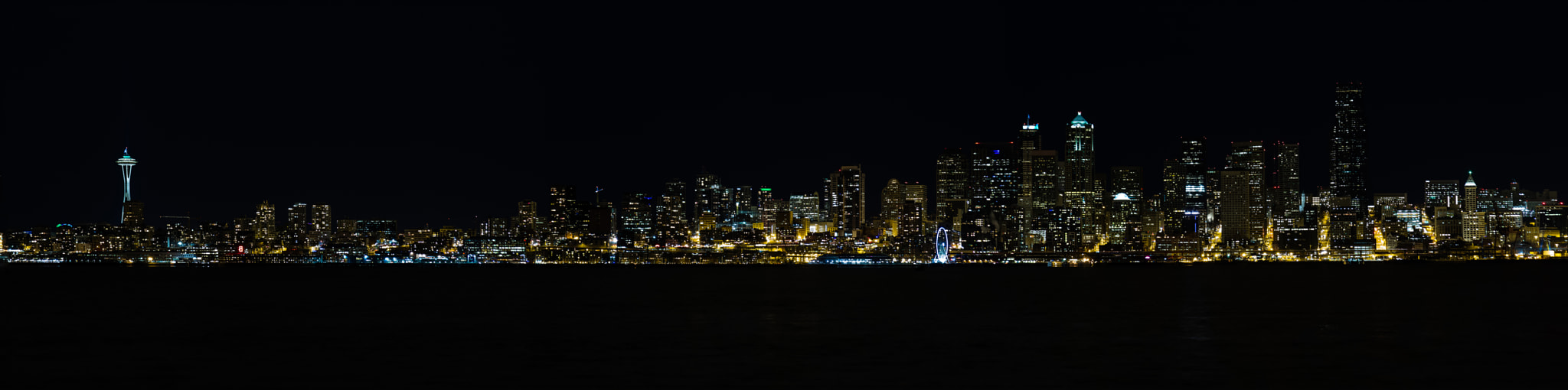 Photograph Seattle Skyline Panorama by Jason Groepper on 500px