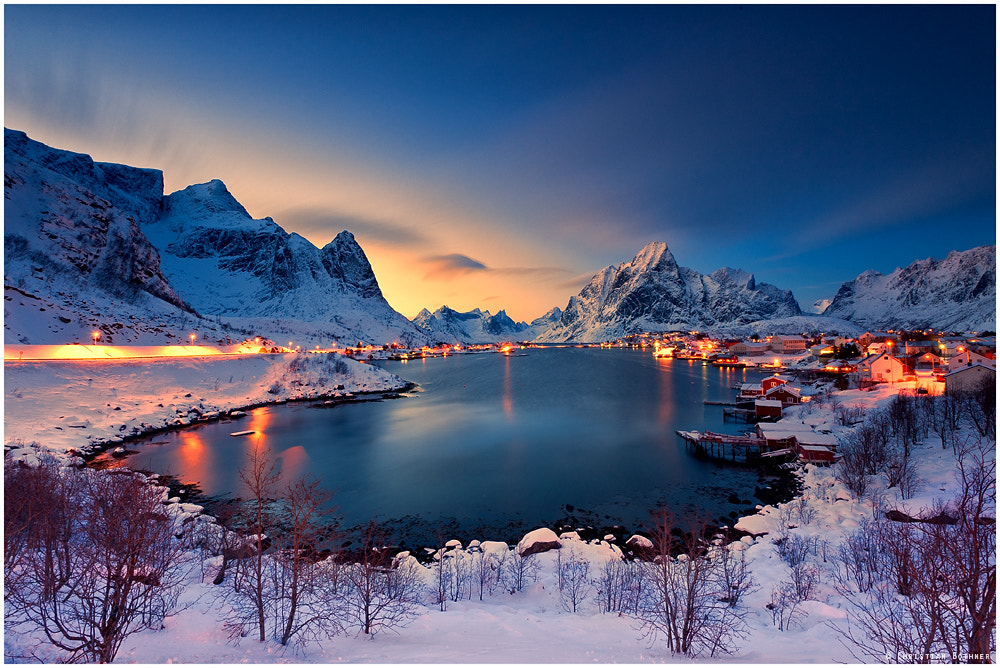 Photograph Reine | Last Light by Christian Ringer on 500px