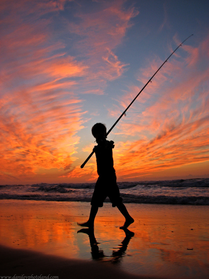 Photograph Young fisherman by Daniel Danilov on 500px