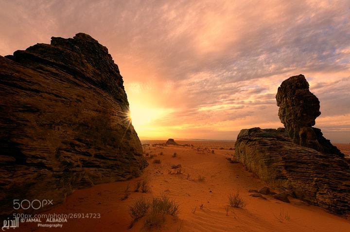 Photograph Desert Walls by JAMAL ALBADIA on 500px