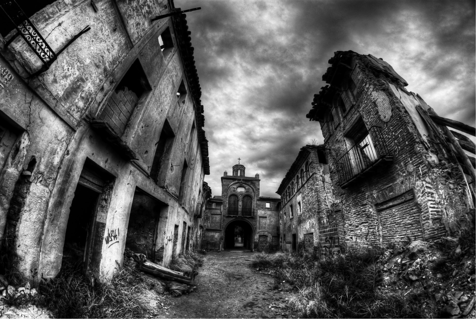 Photograph Old Belchite by Miguel Angel Gomez Rando on 500px